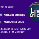 STR vs STA Live Score, Big Bash League, Dream11 Fantasy Cricket Tips, Playing XI, Pitch Report