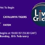 CAT vs FTH Live Score, ECS Spain, Barcelona, 2021, CAT vs FTH Scorecard Today Match, Playing XI, Pitch Report