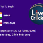 IND vs ENG Live Score, 3rd Test Live, IND vs ENG Scorecard Today, IND vs ENG Playing XIs