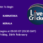 KAR vs KER Live Score, Vijay Hazare Trophy, 2021, KAR vs KER Scorecard Today, KAR vs KER Playing XIs