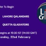 LAH vs QUE Live Score, PSL 2021, LAH vs QUE Scorecard Today Match, Pitch Report, Fantasy XI