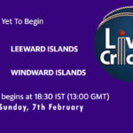 LEI vs WNI Live Score, Super50 Cup, 2021, LEI vs WNI Scorecard Today Match, Playing XI, Pitch Report