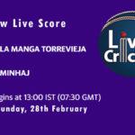 LMT vs MIN Live Score, Spanish Championship, 2021, LMT vs MIN Scorecard Today, LMT vs MIN Playing XIs
