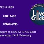 PIC vs PAK Live Score, ECS T10 2021, PIC vs PAK Scorecard Today, PIC vs PAK Playing XIs