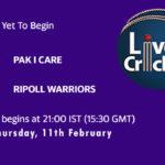 PIC vs RIW Live Score, ECS T10 Barcelona 2021, PIC vs RIW Scorecard Today, PIC vs RIW Playing XIs