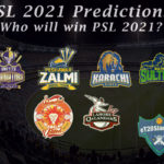 PSL 2021 Predictions - Who Will Win PSL 2021