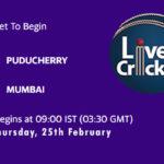 PUD vs MUM Live Score, Vijay Hazare Trophy, PUD vs MUM Scorecard Today, PUD vs MUM Playing XIs