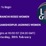 RAN W vs JAM W Live Score, Jharkhand Women's T20 Trophy 2021, RAN W vs JAM W Scorecard Today, VID vs AND Playing XIs