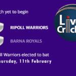 RIW vs BAR Live Score, ECS T10 Barcelona 2021, RIW vs BAR Scorecard Today, RIW vs BAR Playing XIs
