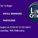 RIW vs PAK Live Score, ECS Spain, Barcelona, 2021, RIW vs PAK Scorecard Today Match, Playing XI, Pitch Report