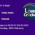 TN vs PUN Live Score, Vijay Hazare Trophy 2021, TN vs PUN Scorecard Today, TN vs PUN Playing XIs