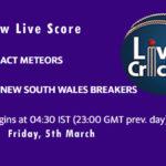 AM-W vs NSW-W Live Score, Women's National Cricket League, 2021, AM-W vs NSW-W Dream11 Match Prediction Today