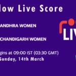 AND-W vs CHN-W Live Score, Womens Senior One Day Trophy, 2021, AND-W vs CHN-W Scorecard Today