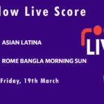 ASL vs RBMS Live Score, ECS T10 Italy 2021, ASL vs RBMS Scorecard Today