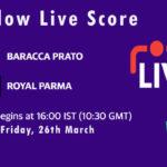 BAP vs ROP Live Score, ECS Italy Bologna 2021, BAP vs ROP Scorecard Today