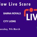 BAR vs CLI Live Score, ECS Spain, Barcelona, 2021, BAR vs CLI Dream11 Today Match