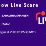 BSH vs FAL Live Score, ECS Spain, Barcelona, 2021, BSH vs FAL Dream11 Today Match