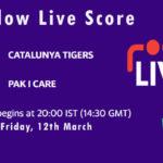 CAT vs PIC Live Score, Final, ECS Spain, Barcelona, 2021, CAT vs PIC Dream11 Today Match
