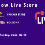 CRS vs BOL Live Score, ECS Italy Bologna 2021, CRS vs BOL Scorecard Today