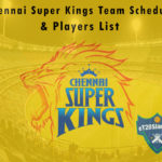 Chennai Super Kings IPL 2021 Team Schedule & Players List