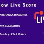 DD vs GG Live Score, Bihar Cricket League T20, 2021, DD vs GG Scorecard Today