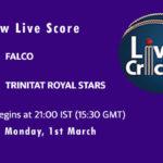 FAL vs TRS Live Score, ECS Spain, Barcelona, 2021, FAL vs TRS Scorecard Today, FAL vs TRS Playing XIs
