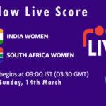 IN-W vs SA-W Live Score, South Africa Women tour of India, 2021, IN-W vs SA-W Dream11 Today Match