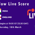 IND vs ENG Live Score, 4th T20I, England tour of India, 2021, IND vs ENG Scorecard Today