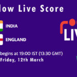 IND vs ENG Live Score, England tour of India, 2021, IND vs ENG Dream11 Today Match