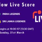 INDL vs SLL Live Score, Final, Road Safety T20 World Series, 2020-21, INDL vs SLL Scorecard Today