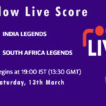 INDL vs SAL Live Score, Road Safety T20 World Series, 2020-21, INDL vs SAL Dream11 Today Match