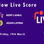 KEL vs ASL Live Score, ECS T10 Italy 2021, KEL vs ASL Scorecard Today