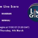 KHA vs MIN Live Score, ECS Spain, Barcelona, 2021, KHA vs MIN Dream11 Match Prediction Today