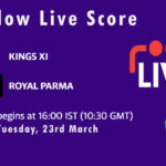 KIN XI vs ROP Live Score, ECS Italy Bologna 2021, KIN XI vs ROP Scorecard Today