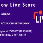 LON vs RCP Live Score, ECS Italy, Venice, 2021, LON vs RCP Scorecard Today
