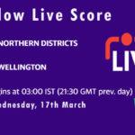 NK vs WEL Live Score, Plunket Shield 2020-21, NK vs WEL Scorecard Today