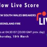 NSW-W vs QUN-W Live Score, Women's National Cricket League, 2021, NSW-W vs QUN-W Scorecard Today