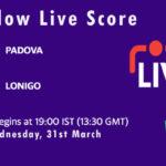 PAD vs LON Live Score, ECS Italy, Venice, 2021, PAD vs LON Scorecard Today