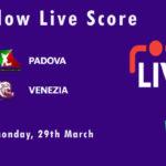 PAD vs VEN Live Score, ECS Italy, Venice, 2021, PAD vs VEN Scorecard Today