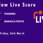 PIA vs BAP Live Score, ECS Italy Bologna 2021, PIA vs BAP Scorecard Today