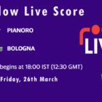 PIA vs BOL Live Score, ECS Italy Bologna 2021, PIA vs BOL Scorecard Today