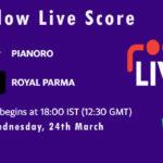 PIA vs ROP Live Score, ECS Italy Bologna 2021, PIA vs ROP Scorecard Today