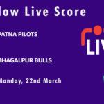PP vs BB Live Score, Bihar Cricket League T20, 2021, PP vs BB Scorecard Today