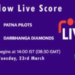 PP vs DD Live Score, Bihar Cricket League T20, 2021, PP vs DD Scorecard Today
