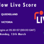 QUN vs VCT Live Score, Sheffield Shield, 2020-21, QUN vs VCT Dream11 Today Match