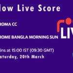 RCC vs RBMS Live Score, 2nd Semi-Final, ECS T10 Italy 2021, RCC vs RBMS Scorecard Today