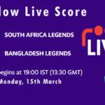 SAL vs BANL Live Score, Road Safety T20 World Series, 2020-21, SAL vs BANL Dream11 Today Match