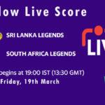 SLL vs SAL Live Score, 2nd Semi-Final, Road Safety T20 World Series 2021, SLL vs SAL Scorecard Today