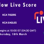 TIG vs EAG Live Score, KCA Presidents Cup T20, 2021, TIG vs EAG Scorecard Today
