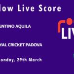 TRA vs RCP Live Score, ECS Italy, Venice, 2021, TRA vs RCP Scorecard Today